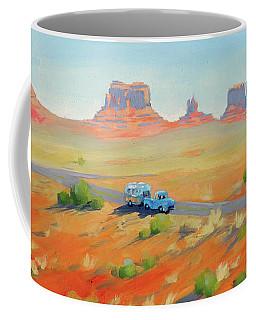 Monument Valley Vintage Coffee Mug