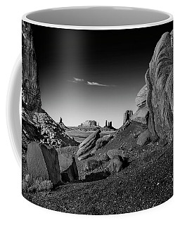 Monument Valley Rock Formations Coffee Mug