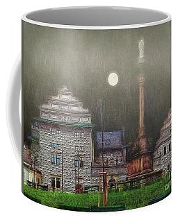 Coffee Mug featuring the photograph Monumental- Prague by Leigh Kemp