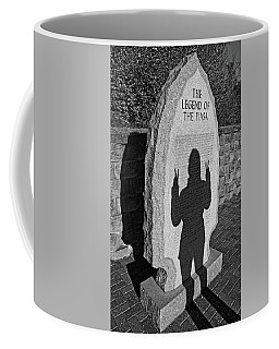 Monumental Shadows Peace Out Coffee Mug
