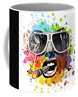 Mony White Coffee Mug