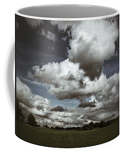 Moodiness In The Clouds Coffee Mug by Karen Stahlros