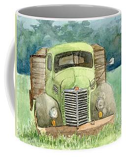 Moody Green Coffee Mug
