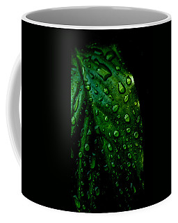Moody Raindrops Coffee Mug by Parker Cunningham