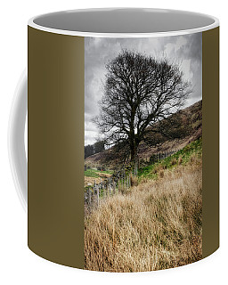 Coffee Mug featuring the photograph Moody Scenery In Central Scotland by Jeremy Lavender Photography