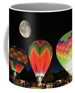 Moon And Balloons Coffee Mug