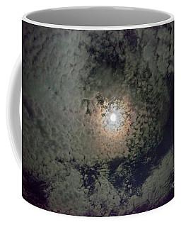 Moon And Clouds Coffee Mug
