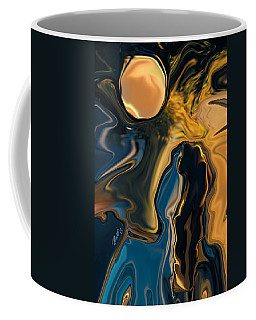 Moon And Fiance Coffee Mug by Rabi Khan