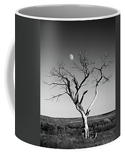 Moon And Memory At Bosque Del Apache N M Coffee Mug