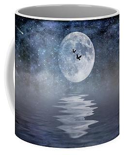 Moon And Sea Coffee Mug