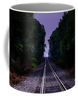 Moon And Steel Coffee Mug