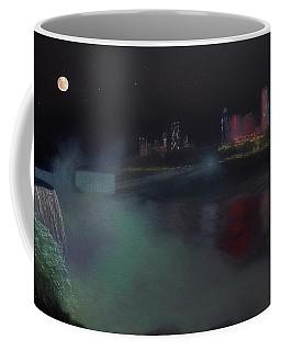 Moon At Niagara  Coffee Mug