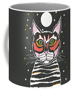 Moon Cat - Funny Animal Coffee Mug