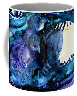 Moon Eater Dragon Lunar Eclipse Coffee Mug