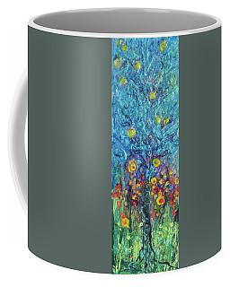 Moon Flowers Coffee Mug