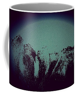 Moon In The Mountains Coffee Mug