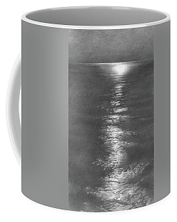 Moon Light In The Sea Coffee Mug