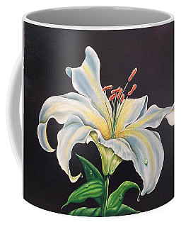 Moon Light Lilly Coffee Mug