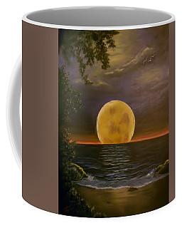 Moon Of My Dreams Coffee Mug by Sheri Keith