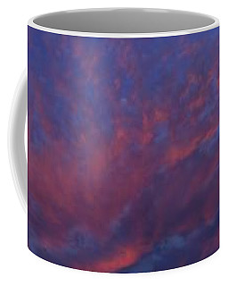 Moon On Mirrored Sunset Coffee Mug