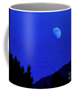 Moon Over Black Mesa II Coffee Mug