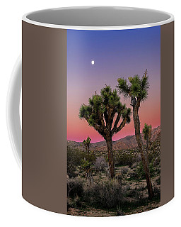 Moon Over Joshua Tree Coffee Mug