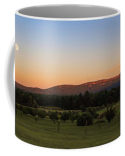 Moon Over Mount Tom Coffee Mug