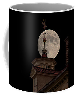 Moon Over Mount Vernon Coffee Mug by Ed Clark