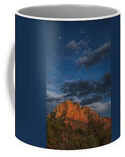 Moon Over Sedona Coffee Mug