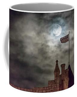 Moon Over The Bank Coffee Mug by Rob Graham