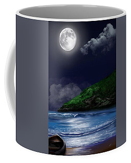 Moon Over The Cove Coffee Mug