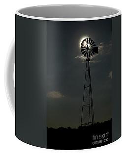 Moon Over The Farm Coffee Mug by Nicki McManus