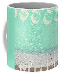 Moon Over The Sea Coffee Mug