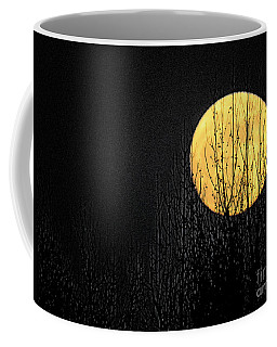 Moon Over The Trees Coffee Mug