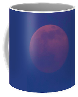 Moon Rise Blue Coffee Mug by Michael Nowotny