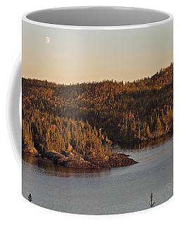 Moon Rise Over Pukaskwa Coffee Mug