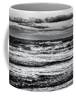 Coffee Mug featuring the photograph Moon Rising  by Louis Ferreira