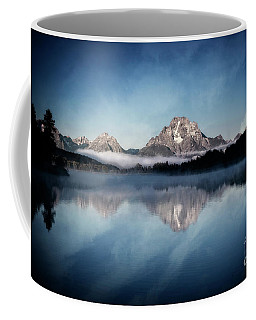Coffee Mug featuring the photograph Moonset by Scott Kemper