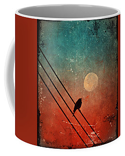 Moon Talk Coffee Mug by Tara Turner