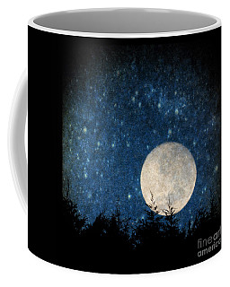 Moon, Tree And Stars Coffee Mug
