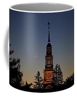 Moon, Venus, And Miller Tower Coffee Mug