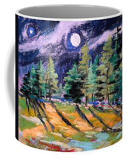 Moon With Venus Coffee Mug