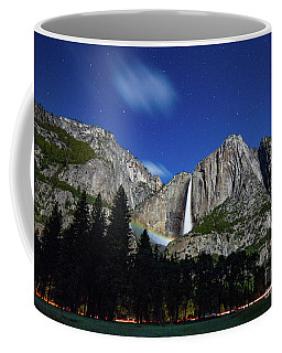 Moonbow And Louds  Coffee Mug