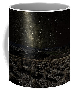 Moonlight And The Milky Way Coffee Mug