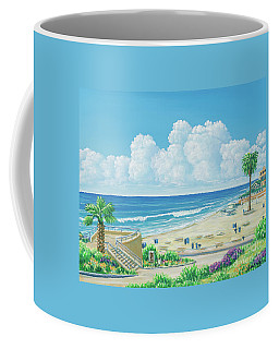 Moonlight Beach Coffee Mug
