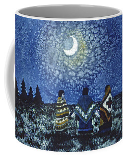 Moonlight Counsel Coffee Mug by Lynda Hoffman-Snodgrass