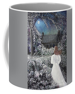 Moonlight Garden Coffee Mug by Lyric Lucas