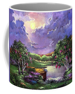 Moonlight In The Woods Coffee Mug