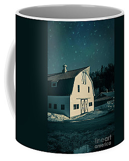 Coffee Mug featuring the photograph Moonlight In Vermont by Edward Fielding
