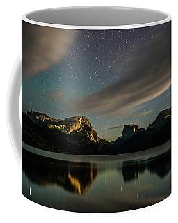 Moonlight On Green River Lake Coffee Mug